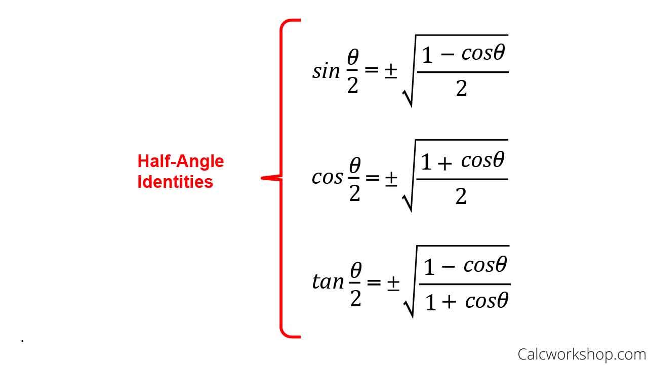 half-angle-formulas